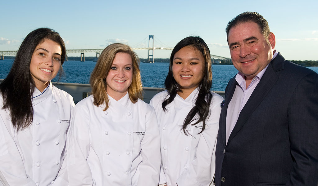 emeril with students