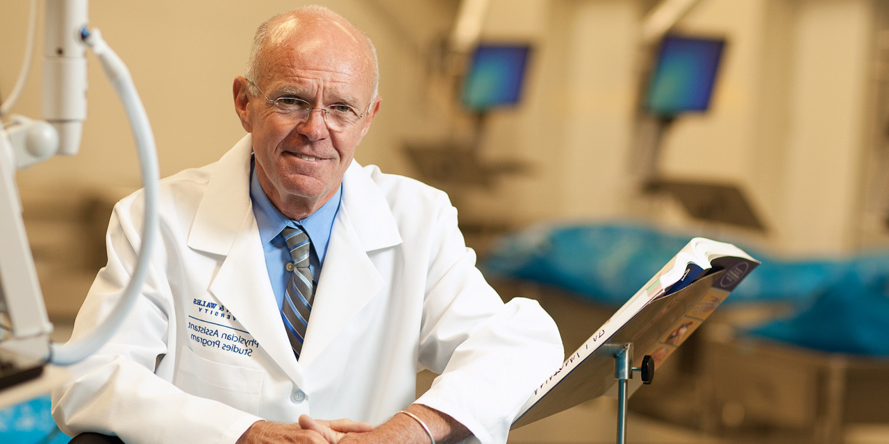 George S. Bottomley, director of the Center for Physician Assistant Studies.
