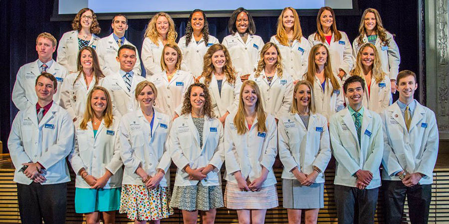 Johnson & Wales Physician Assistant Class of 2017