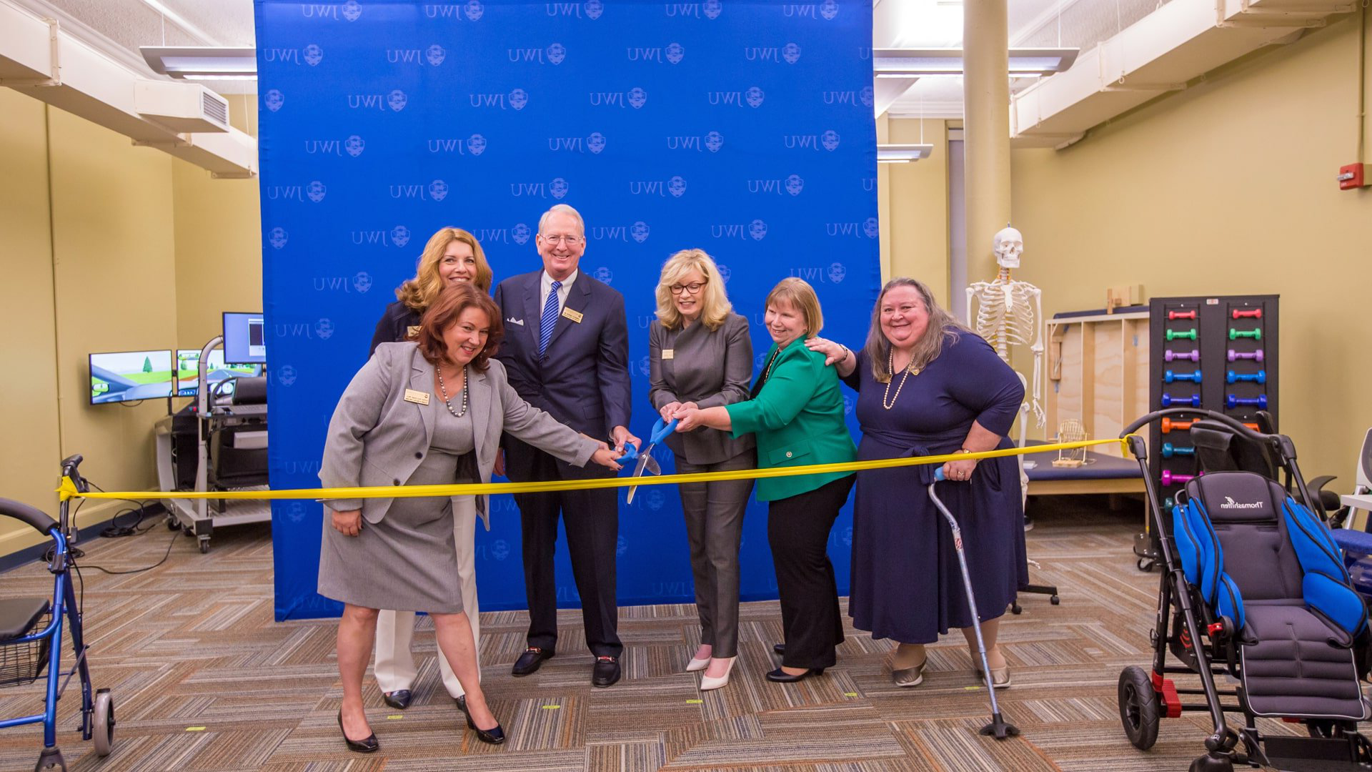 CQ9电子游戏 ribbon-cutting to commemorate the start of the first entry-level Occupational Therapy Doctorate program in Rhode Island.